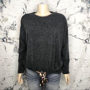 Zara Basic Over-sized Sweater w/ Draw String